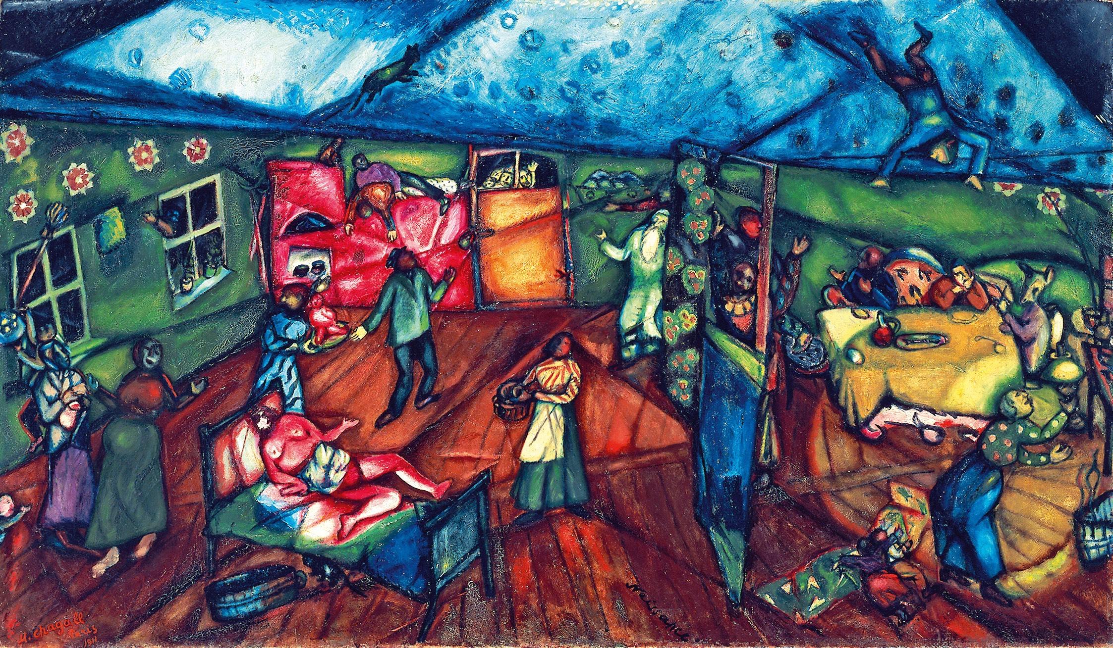 Plus de 300 000 visiteurs pour l'exposition Chagall au MBAM