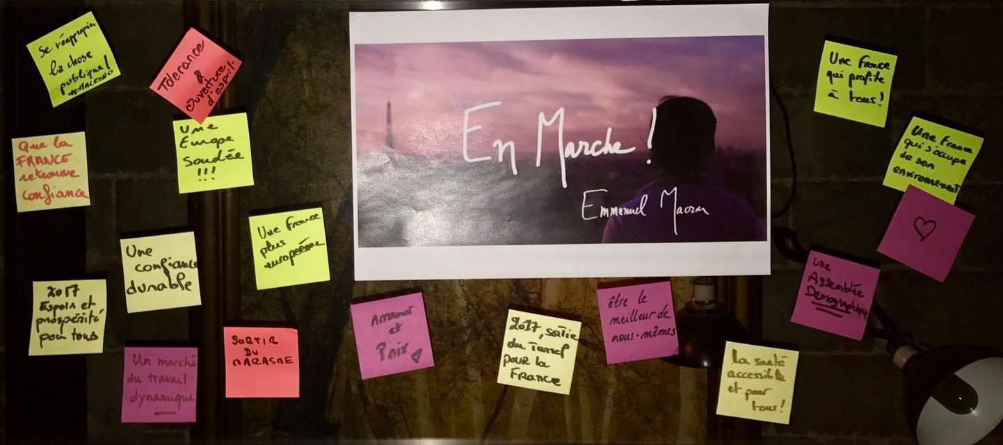 À Montréal, les marcheurs d'Émmanuel Macron accélèrent le pas vers les échéances électorales