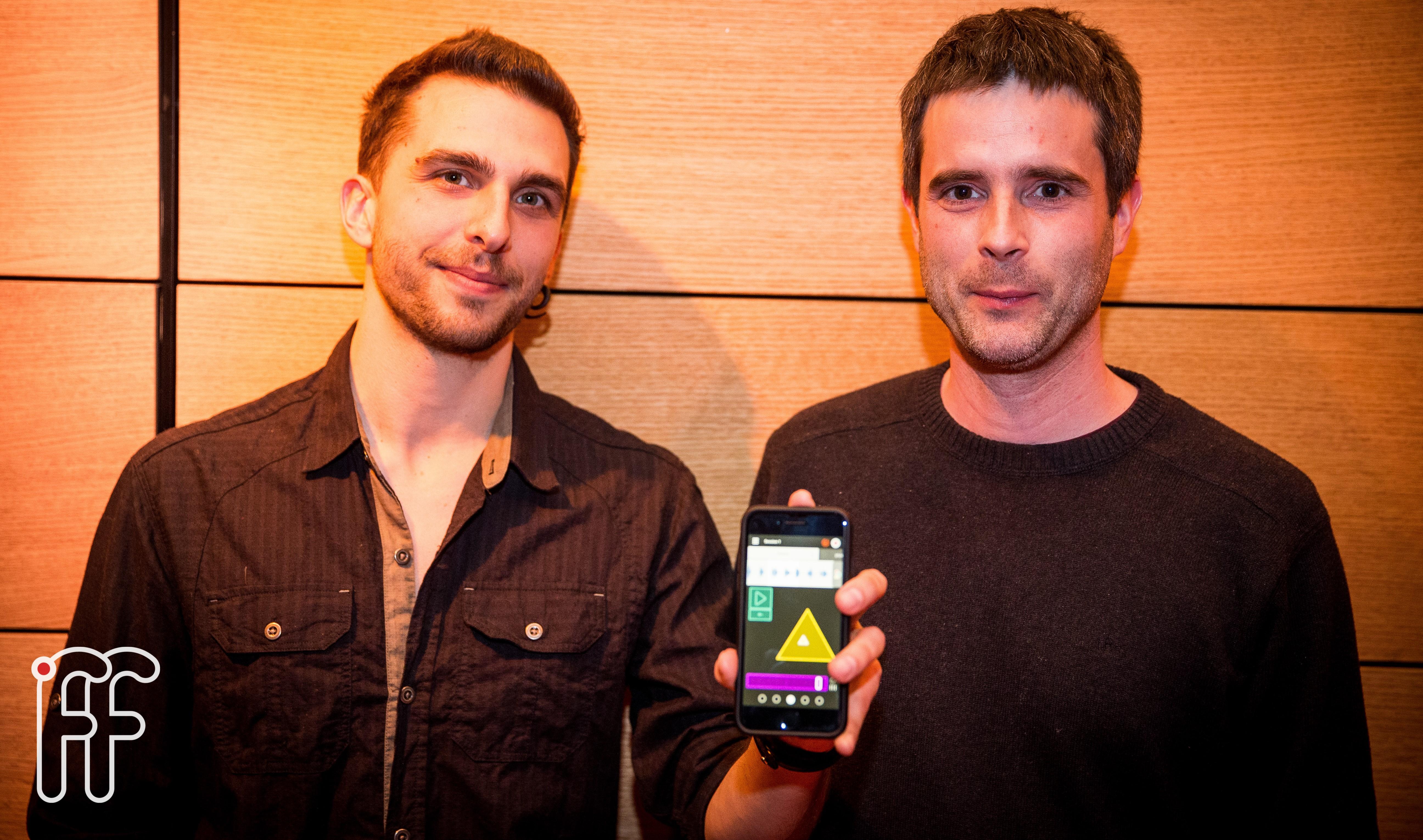 Le fonofone, une application de création sonore développée par deux Français de Montréal