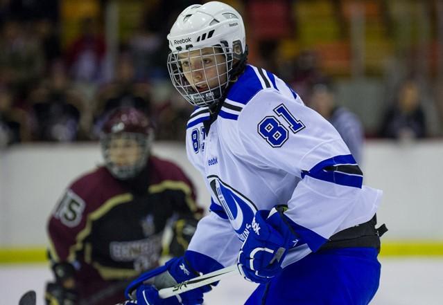 Lore Baudrit, une Française de Montréal en Équipe de France de hockey