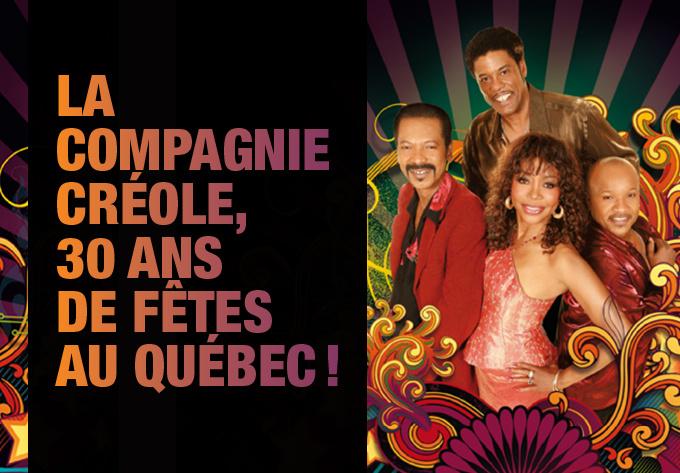 La Compagnie Créole au Québec en 2018, c'est bon pour le moral!