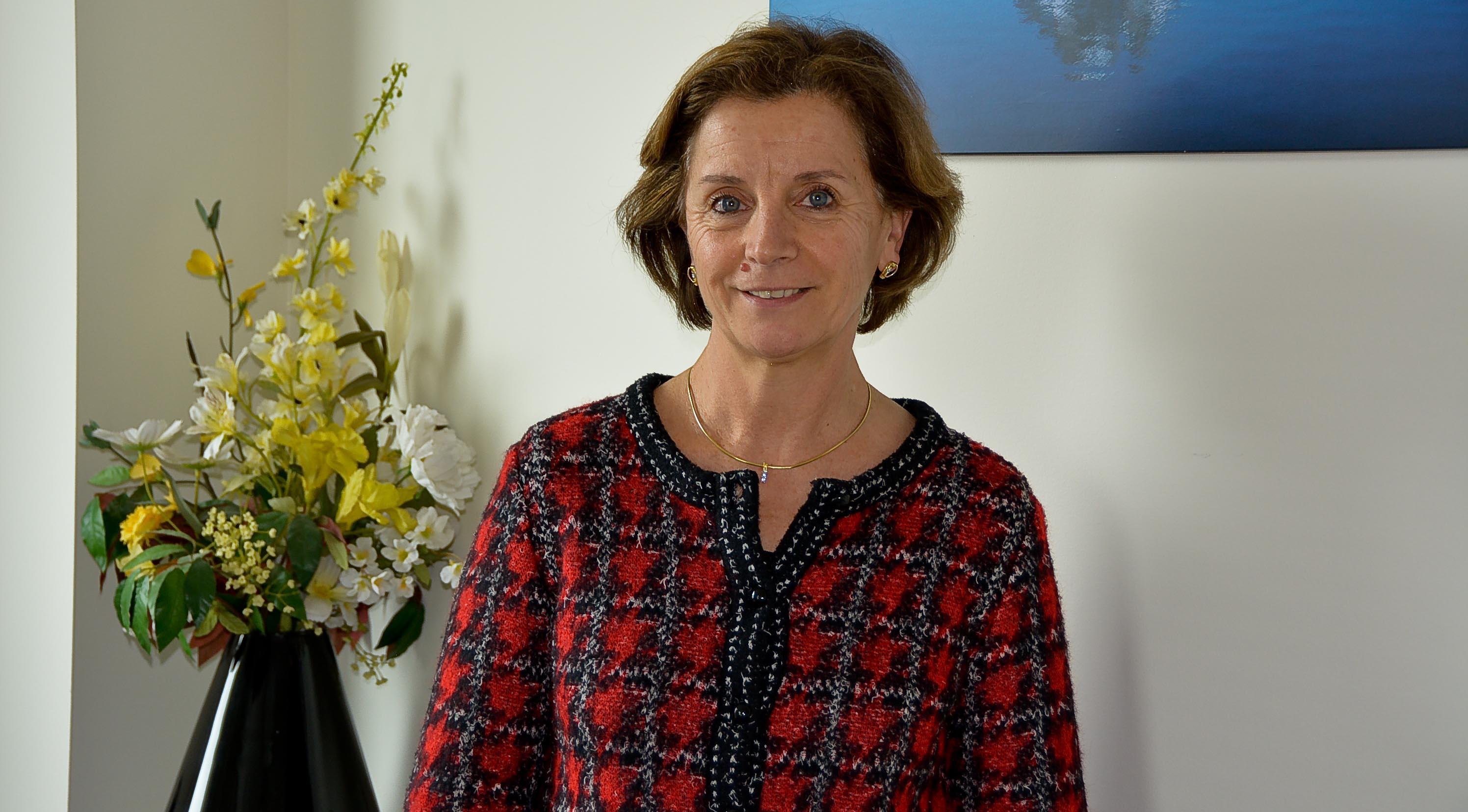 Hélène Séguinotte, dirigeante d'entreprise dans l'univers masculin de l'aéronautique