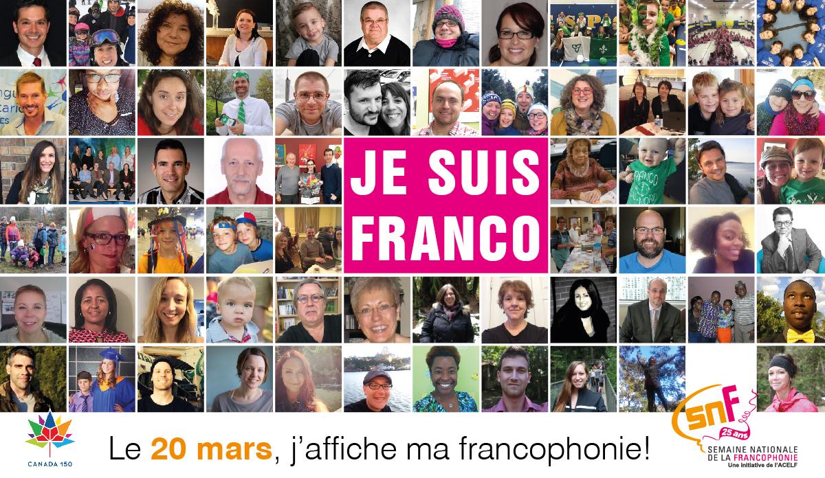 La Francophonie: J'aime, je partage #mon20mars