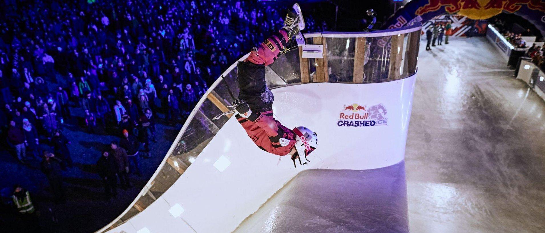 Tristan Dugerdil, d'Avoriaz, prend la 2ème place du Ice Challenge à La Sarre