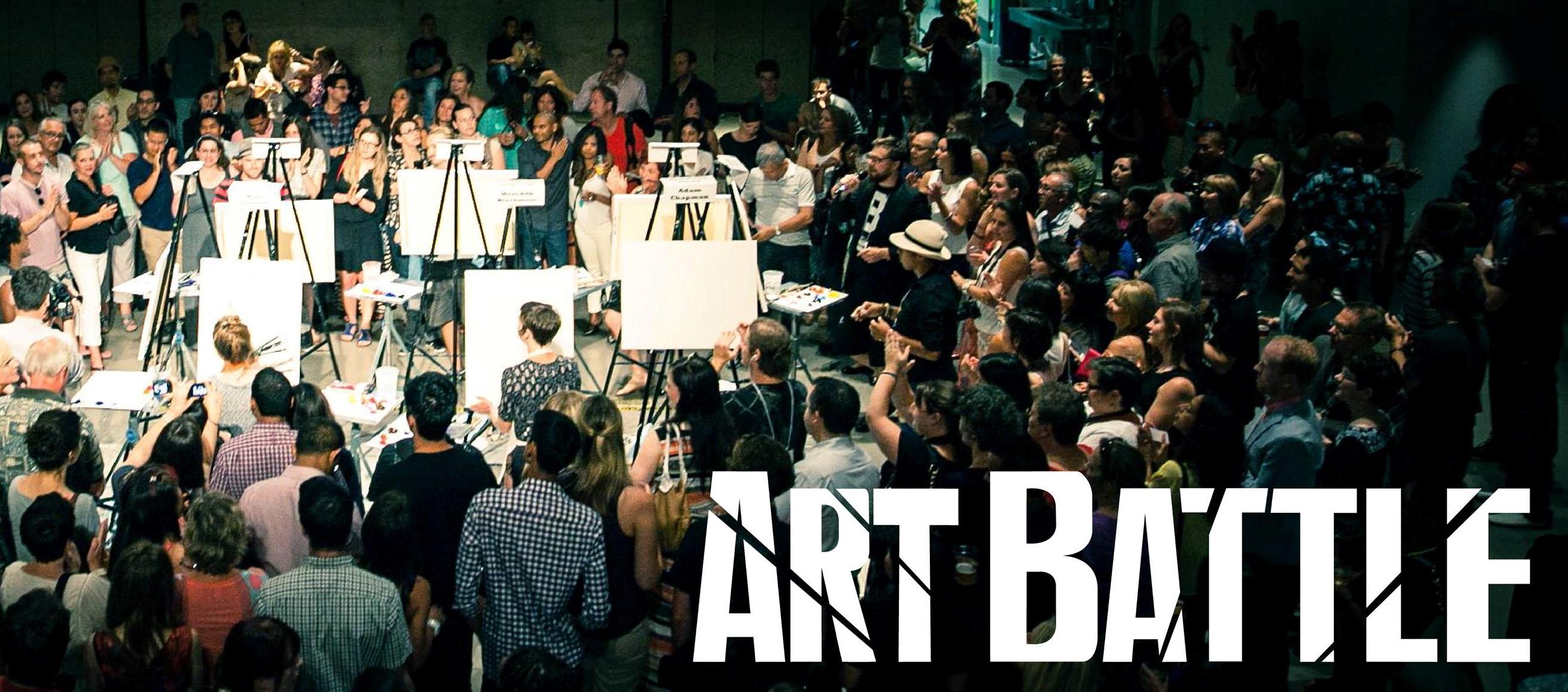 Art Battle, créer la meilleure toile en 20 minutes