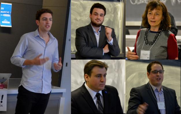 Le débat présidentiel au forum des étudiants français de Concordia et McGill
