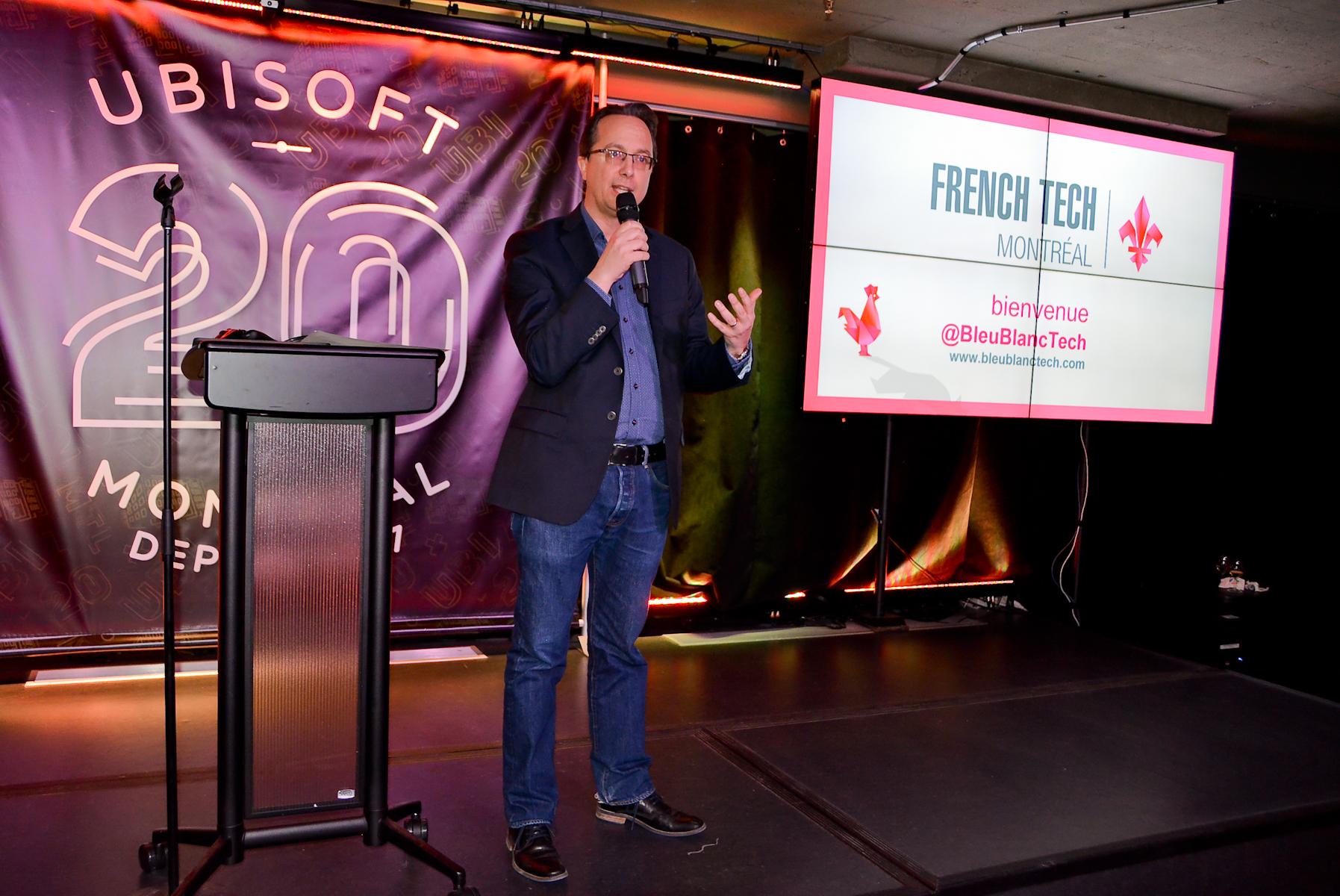 """Ubisoft, """"agitateur"""" d'écosystème numérique à Montréal depuis 20 ans"""