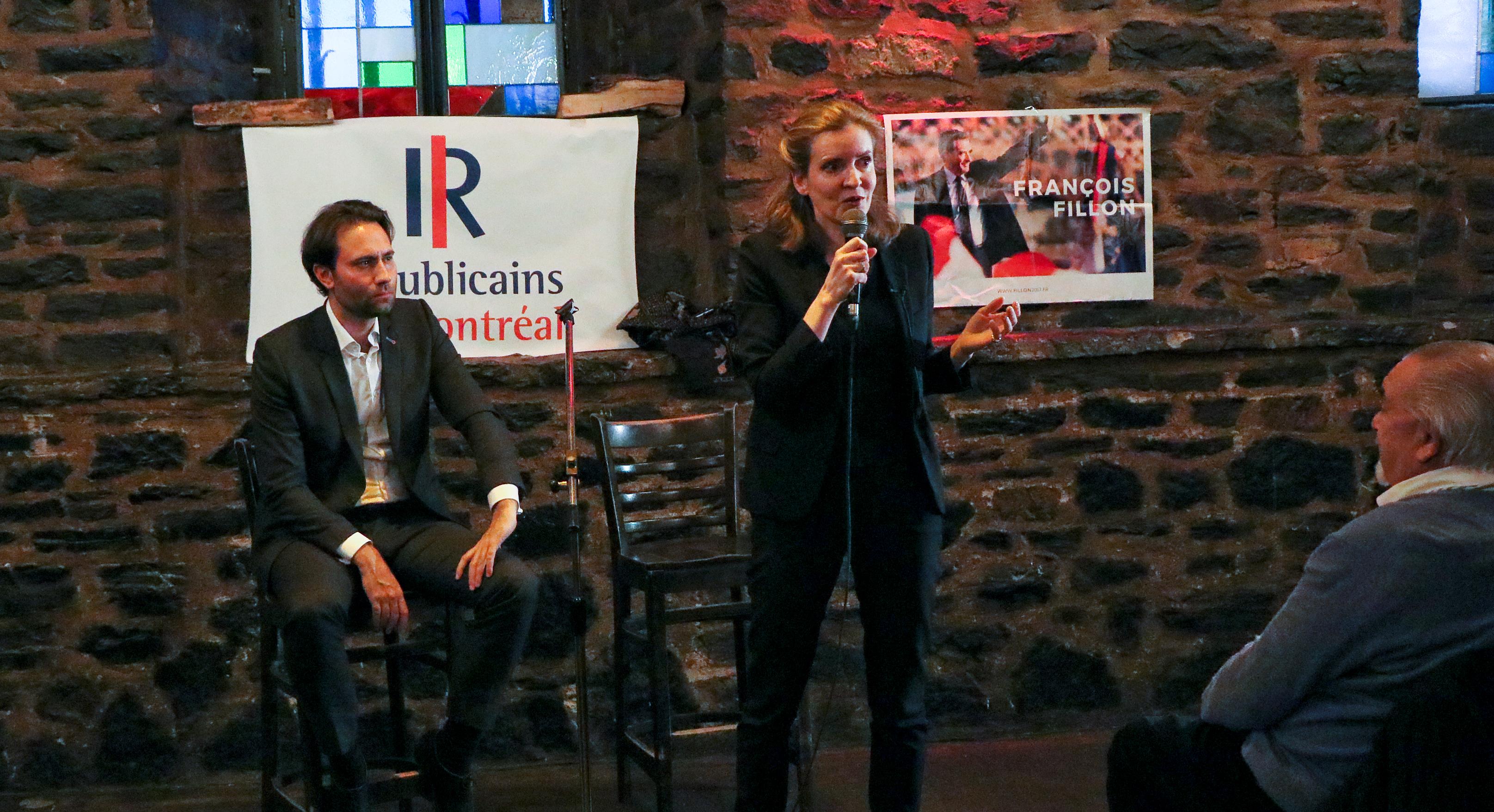 NKM chez les Républicains de Montréal pour tenter de rallier les indécis