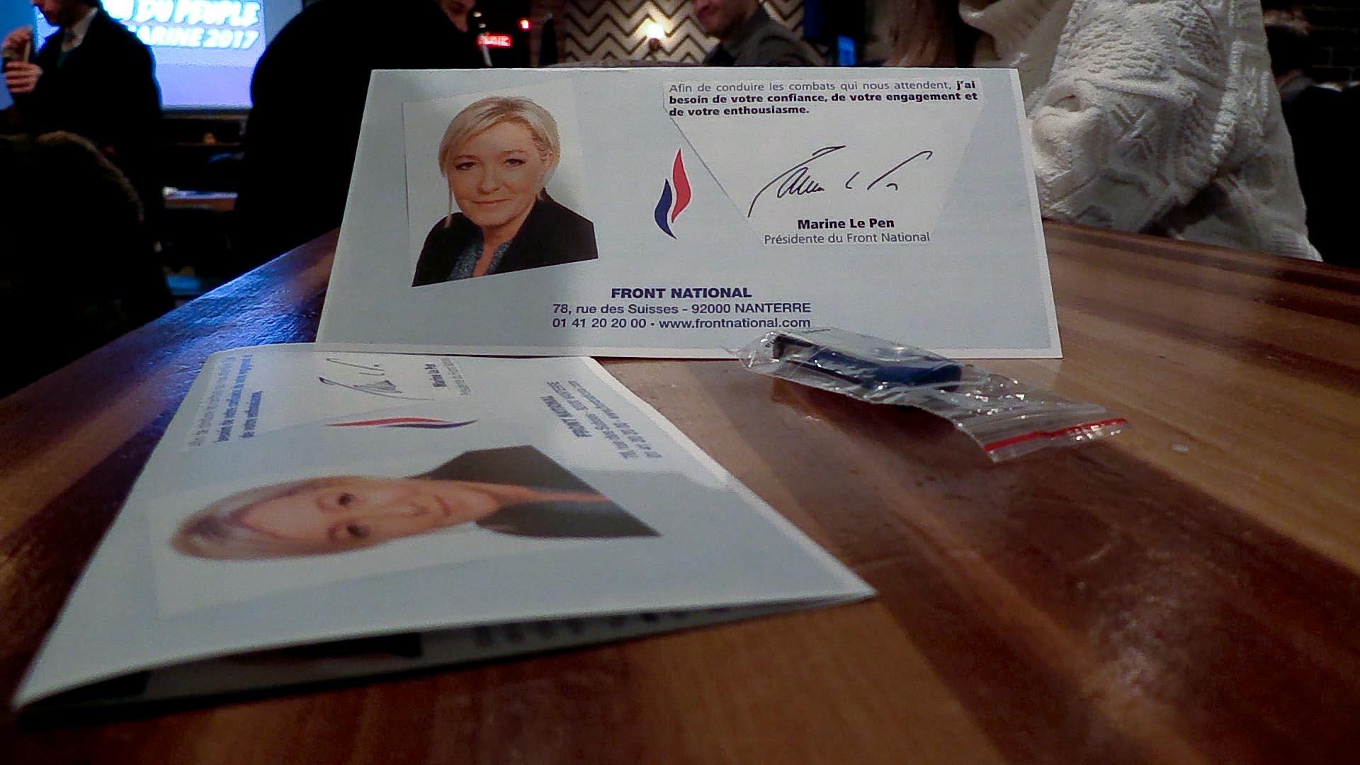 Marine le Pen dévoile ses engagements pour les Français de l'étranger