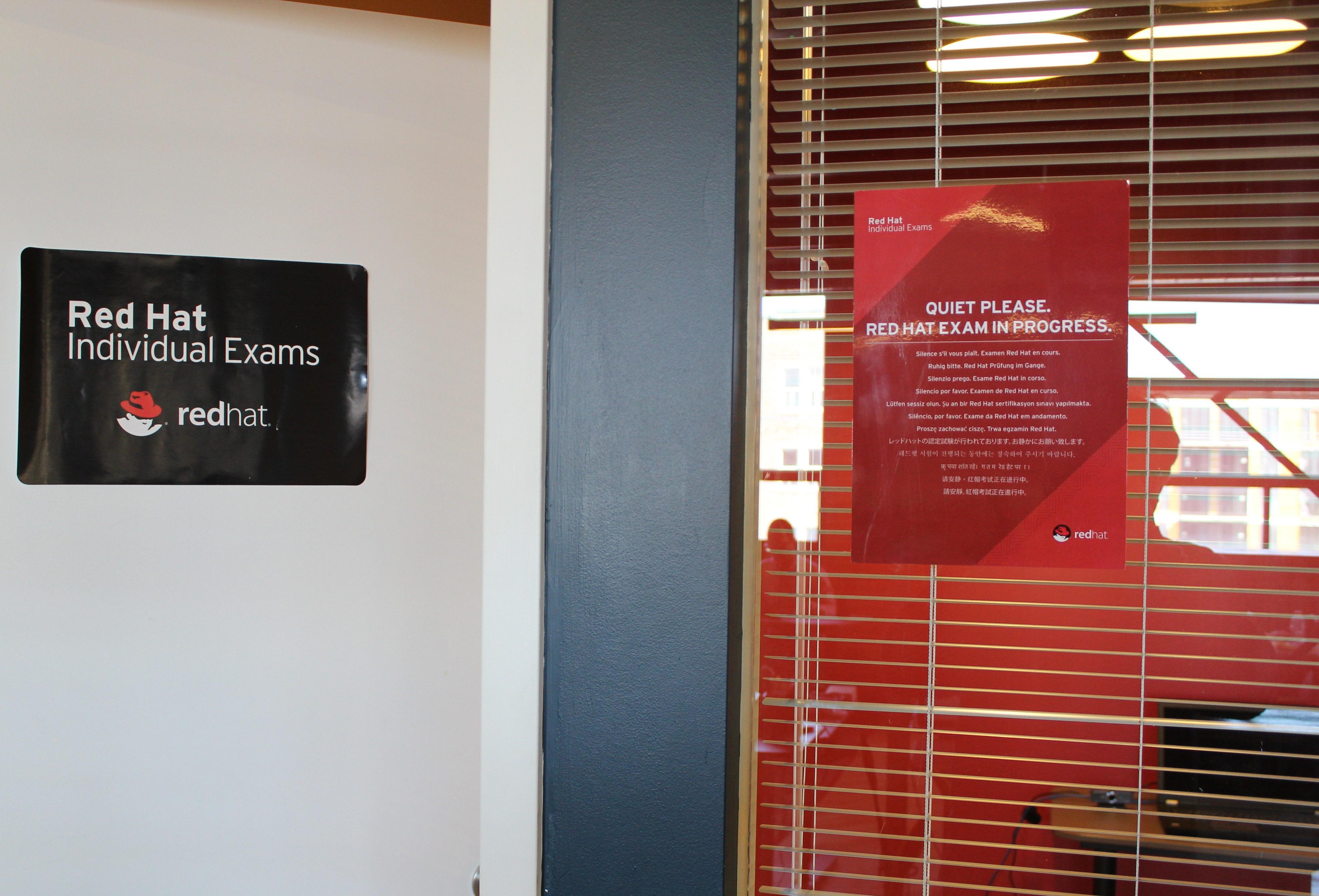 Certification Red Hat: Savoir-Faire Linux héberge un kiosque d'examen