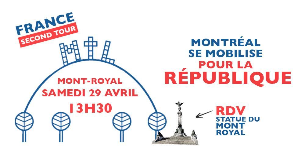 Montréal marche pour la République