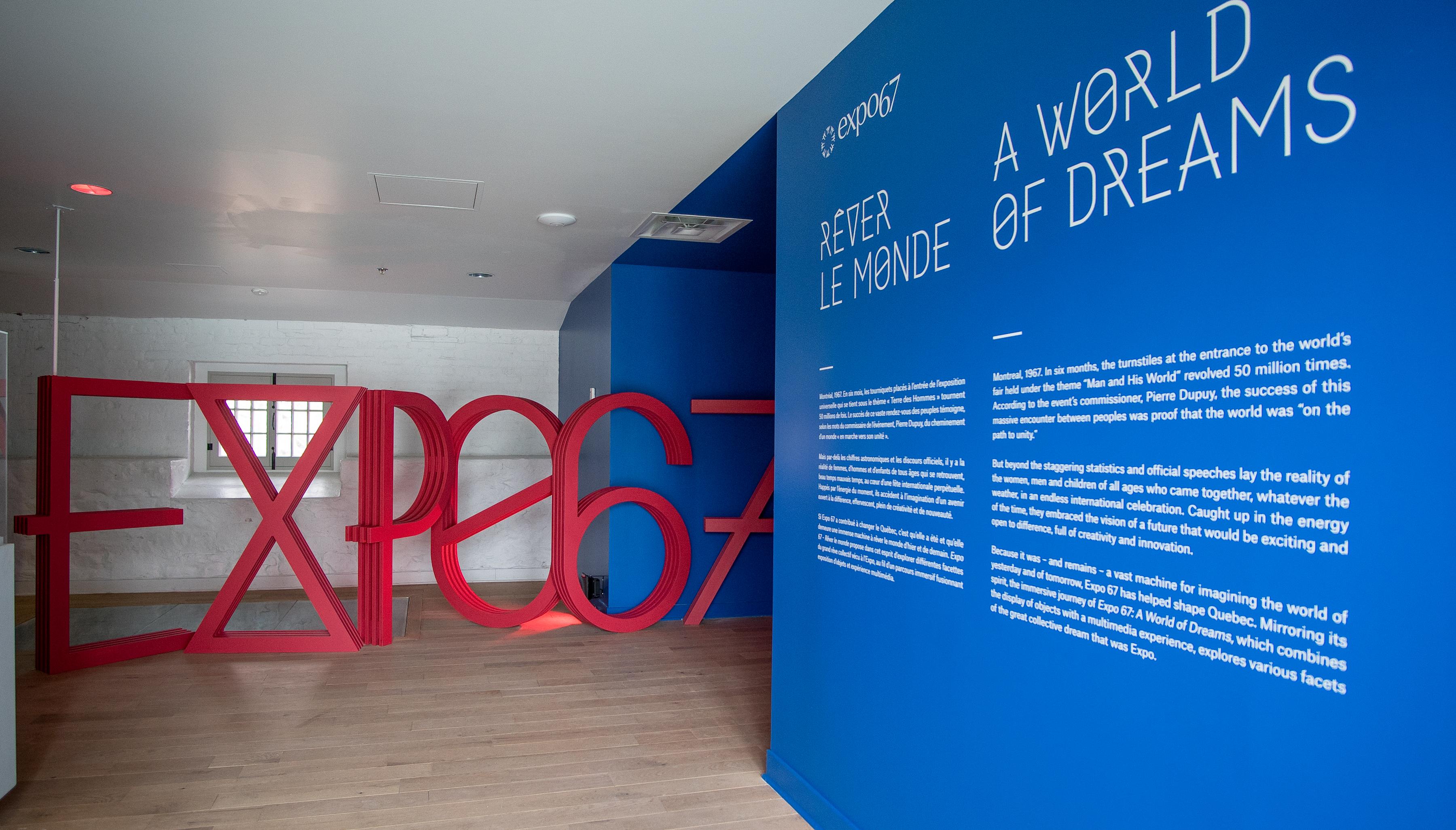 Expo 67 fait encore rêver le monde au Musée Stewart de Montréal cet été