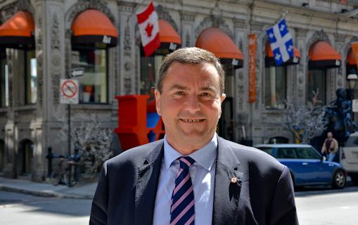 Damien Regnard veut porter les valeurs de la droite républicaine en Amérique du Nord