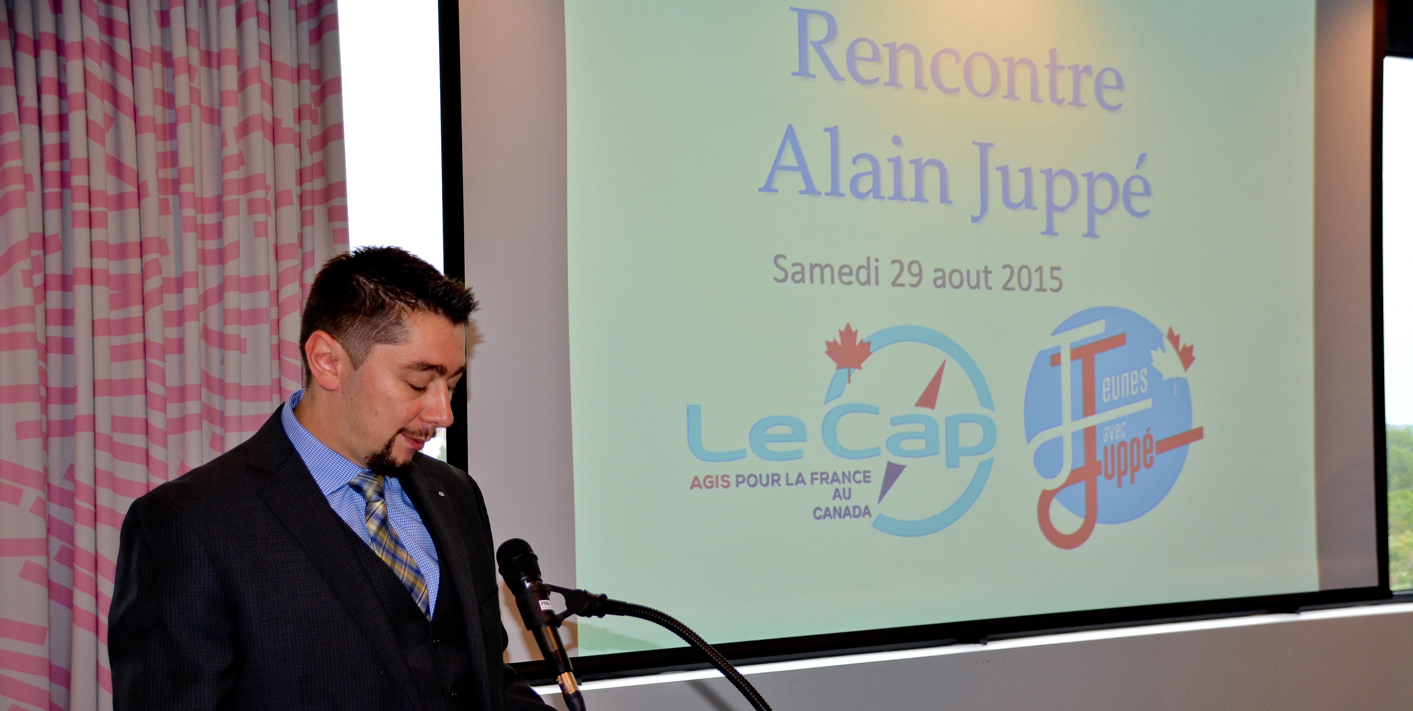 Les Juppéistes de Montréal appellent à voter pour le macroniste Roland Lescure