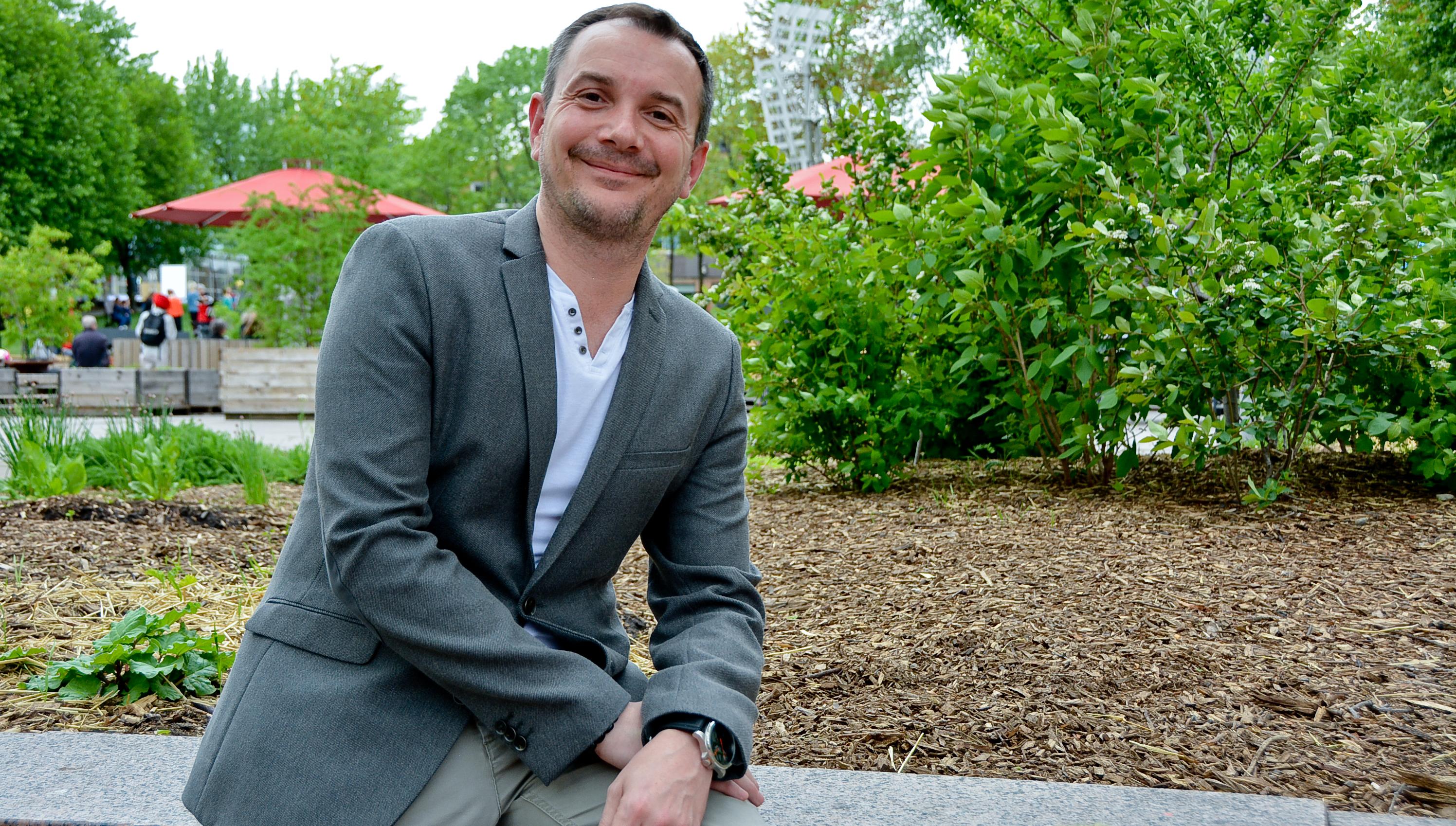 Vincent Boileau-Autin veut donner une vraie place à la société civile en politique