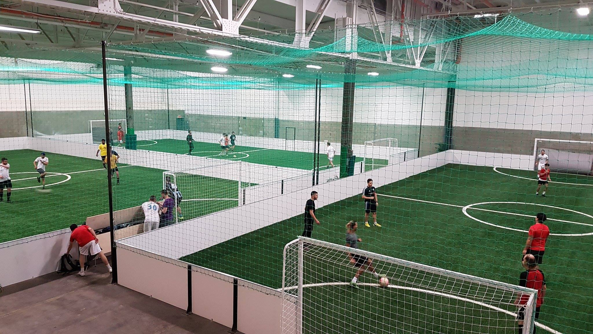 Ça roule pour District 5, le centre de soccer à cinq au Québec !