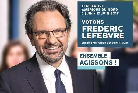 """Frédéric Lefebvre: """"Je vous demande à nouveau votre confiance"""""""