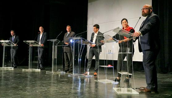 Premier débat pour les élections législatives en Amérique du Nord