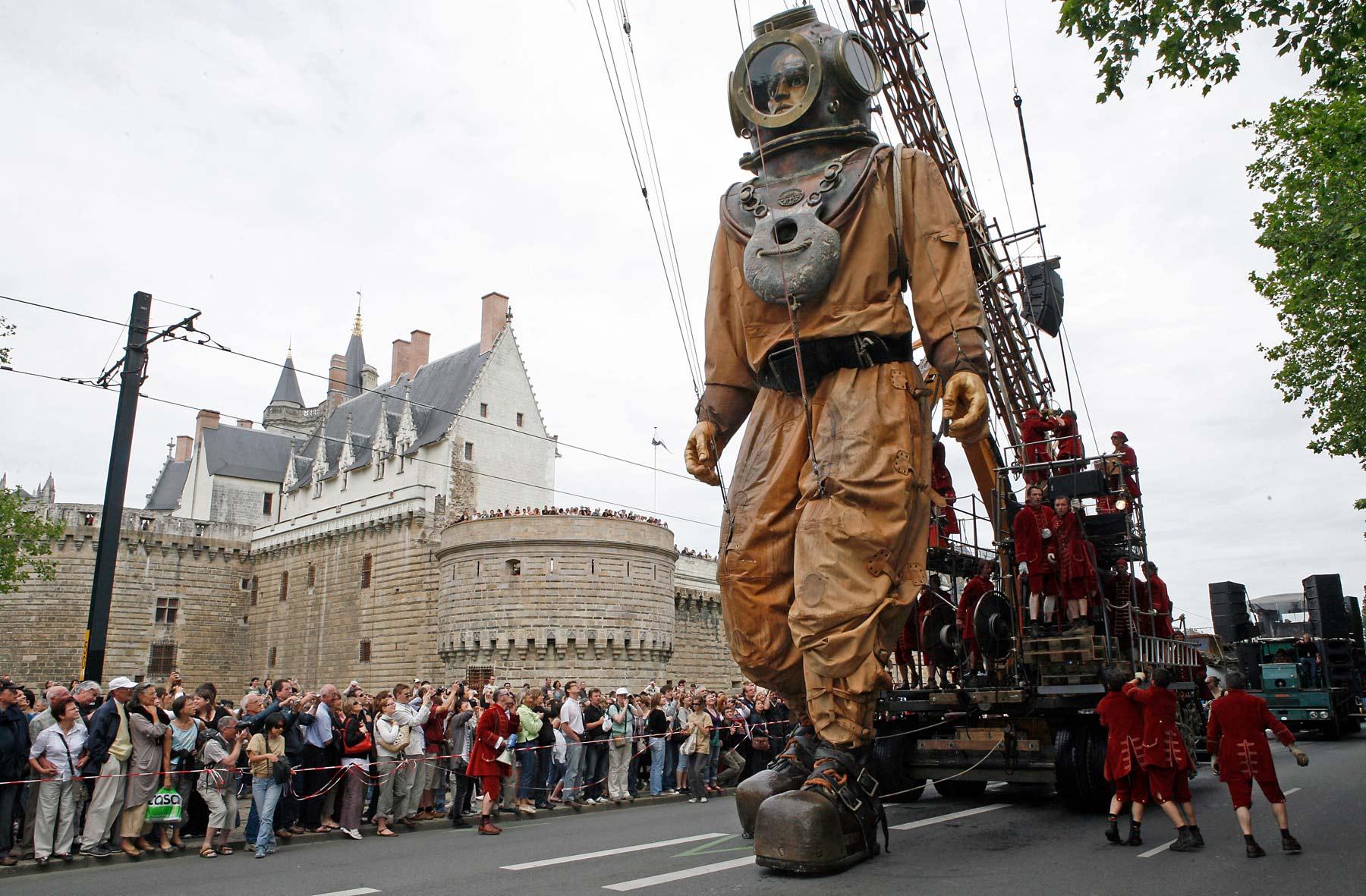 Le parcours montréalais des Géants français dévoilé