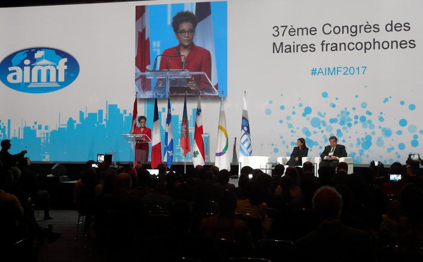 Réunis à Montréal, les maires francophones du monde font le Paris du climat et des JO 2024