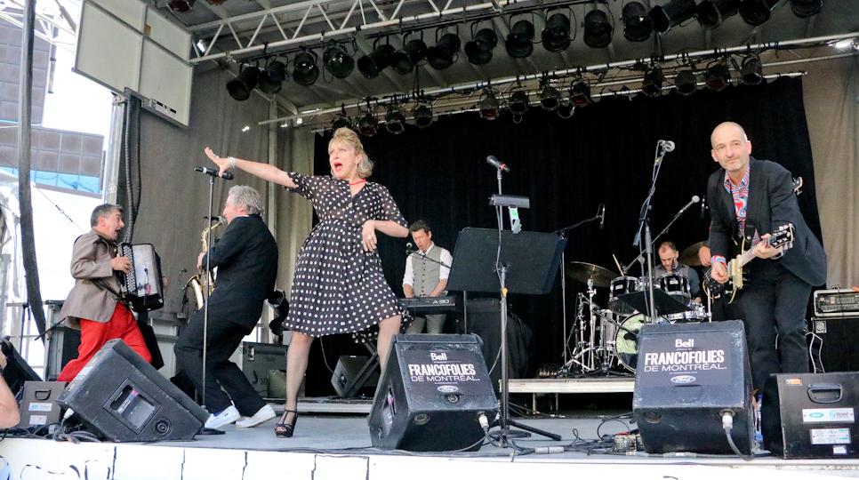 Bal Pop' Loto-Québec : un peu de Montmartre à Montréal pour les Francofolies