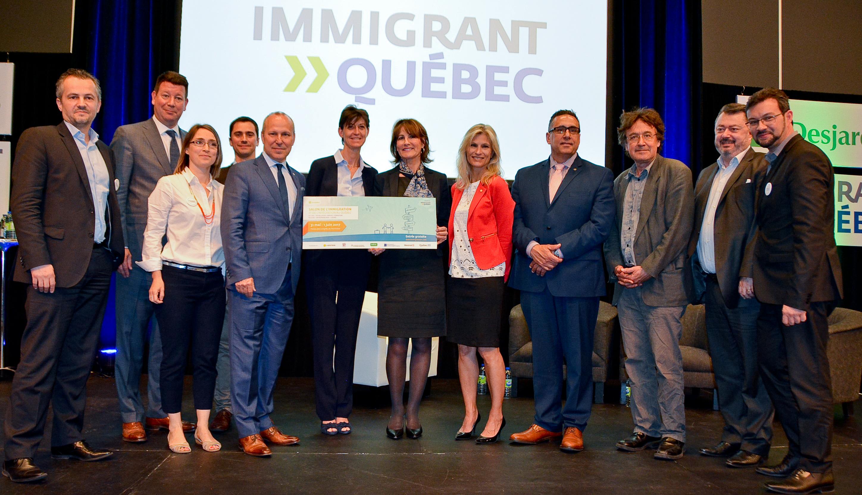 Les étudiants au coeur de la 6e édition du Salon de l'immigration et de l'intégration du Québec