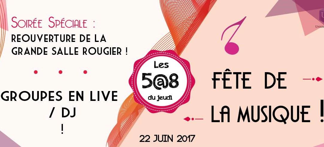 Fête de la musique à l'Union Française le 22 juin