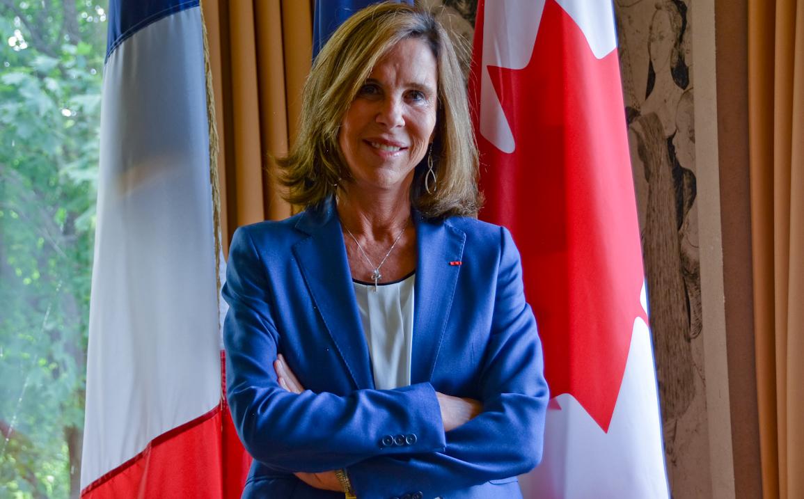 """Kareen Rispal, ambassadrice de France: """"Jamais l'agenda franco-canadien n'a été aussi aligné"""""""