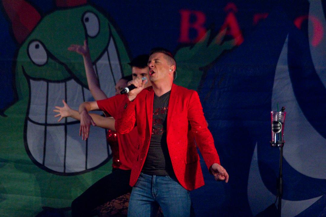 Le voleur de voix, Greg Tudeski, livre son butin au festival Juste pour Rire