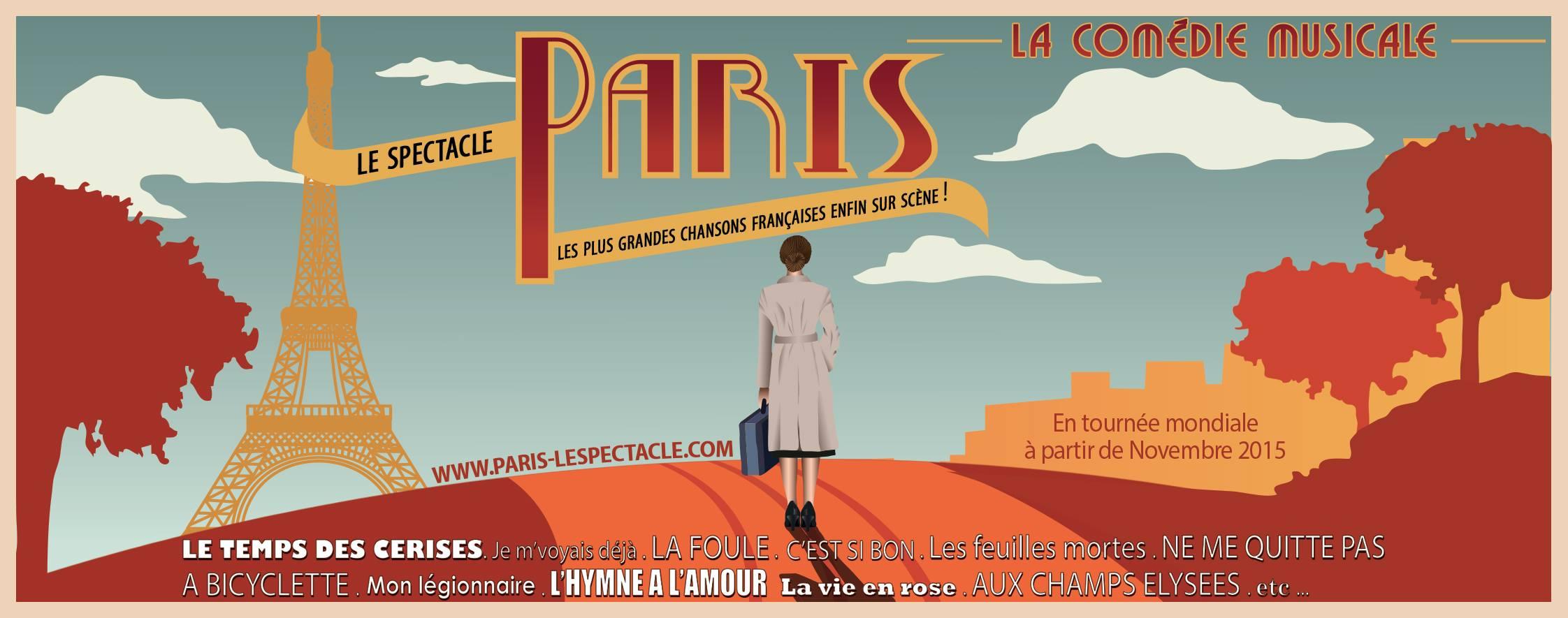 """""""Paris! Le Spectacle"""", en tournée au Québec cet automne"""