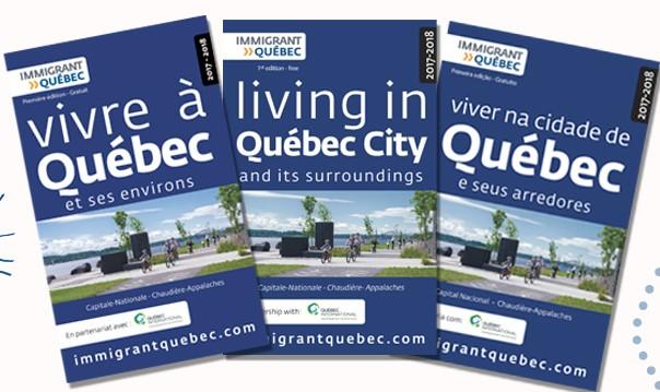 Un nouveau guide sur la ville de Québec