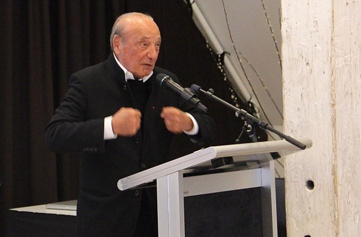Le publicitaire Jacques Séguéla au Québec