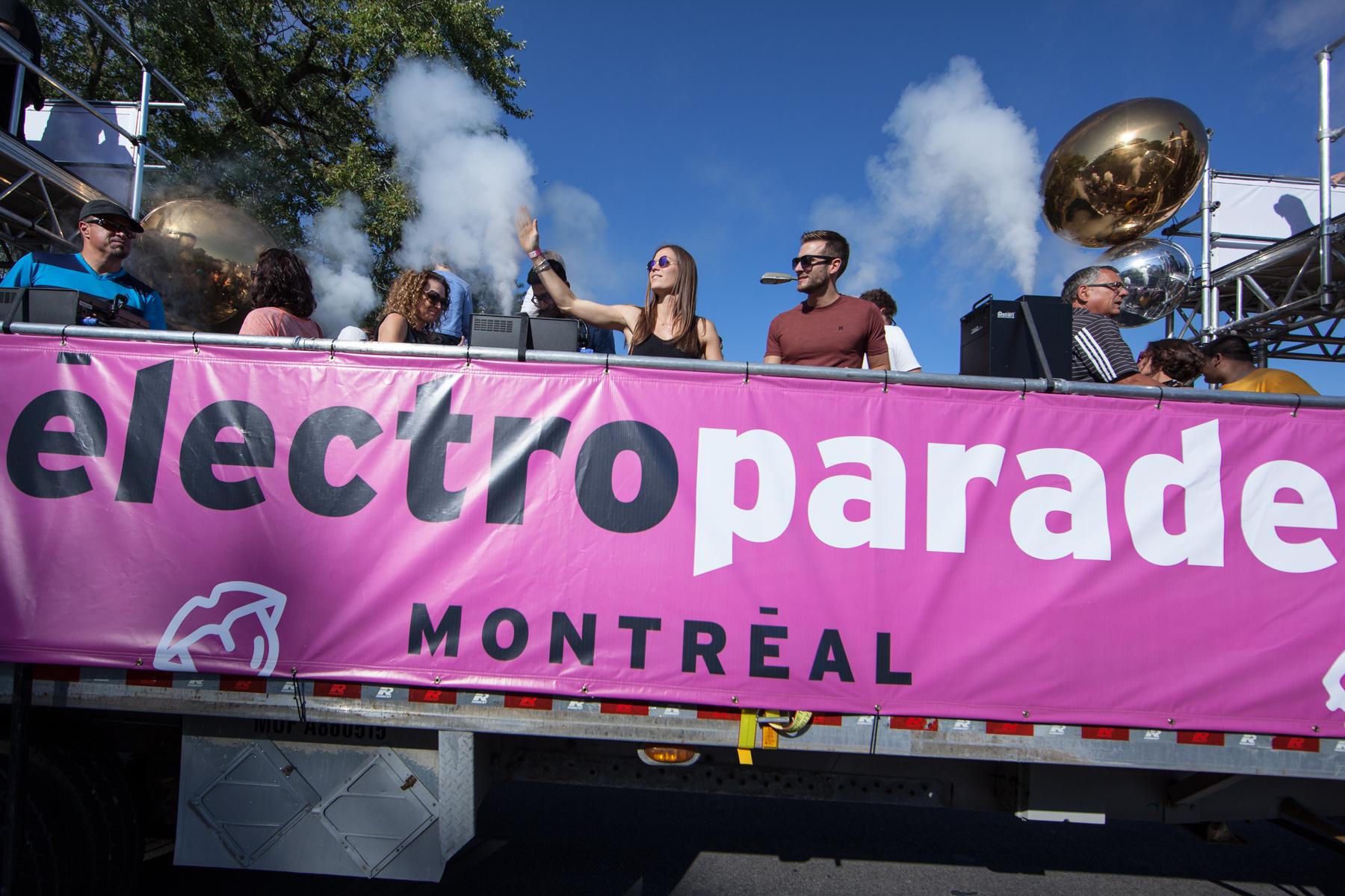 L'Électro Parade, un défilé fédérateur pour clôturer l'été en beauté