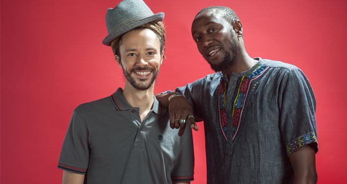 Le groupe français Danakil au festival Nuits d'Afrique