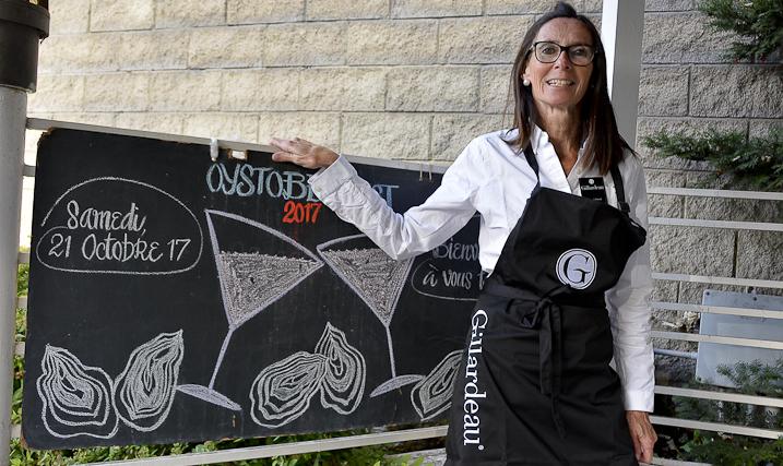 Les huîtres Gillardeau à l'assaut du marché canadien à Montréal