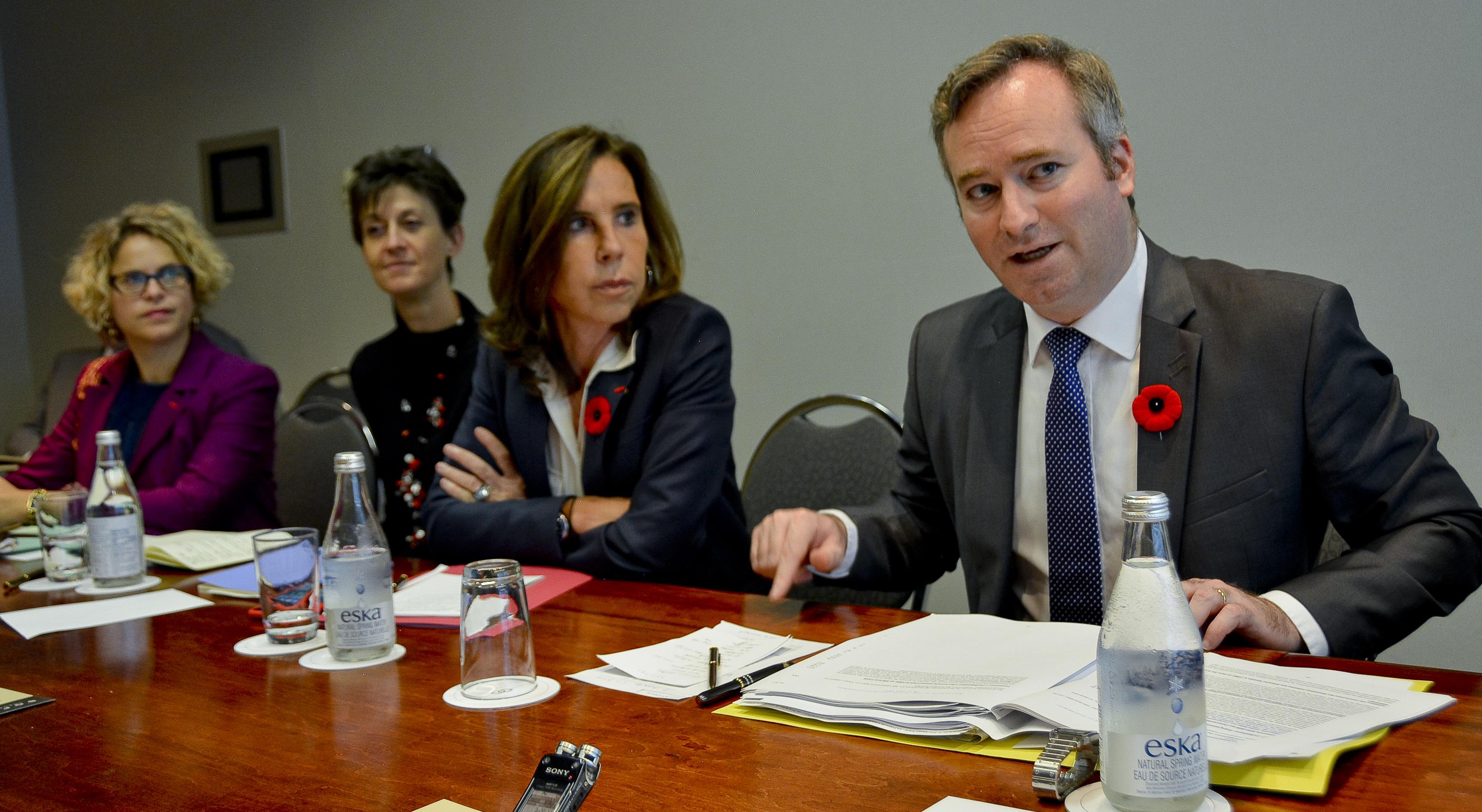 Jean-Baptiste Lemoyne, VRP des réformes Macron auprès des investisseurs canadiens