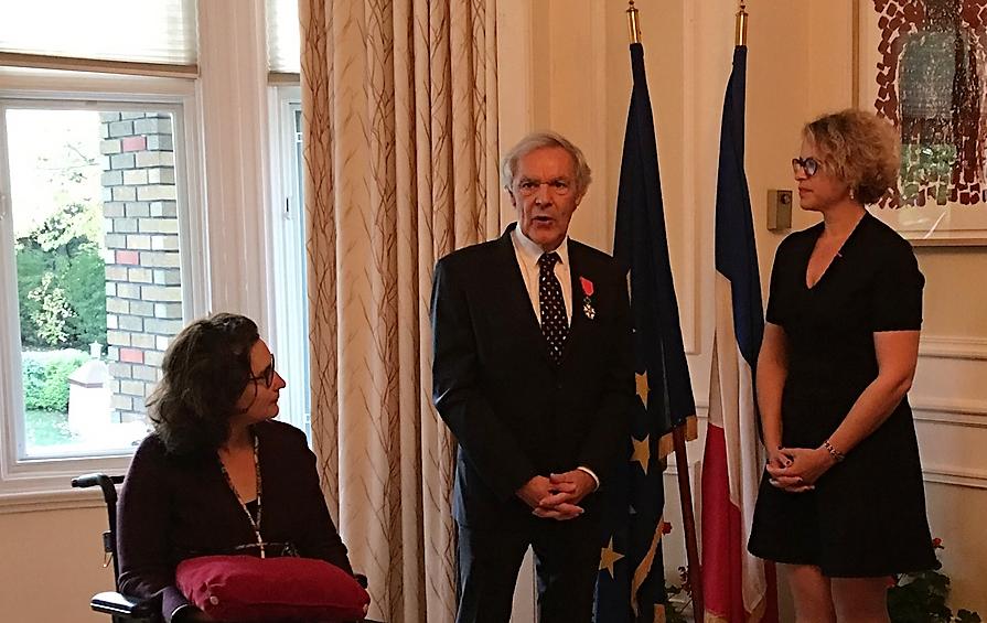Michel Côté fait Chevalier de la Légion d'Honneur