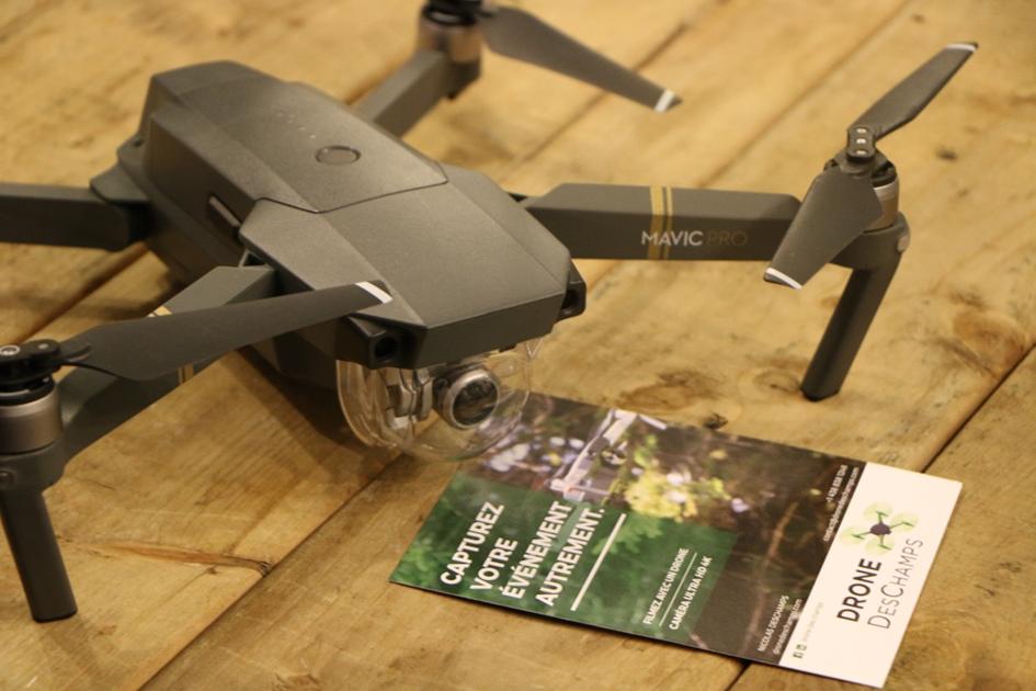 Décollage réussi pour le lancement du socio-financement de Drone Des Champs