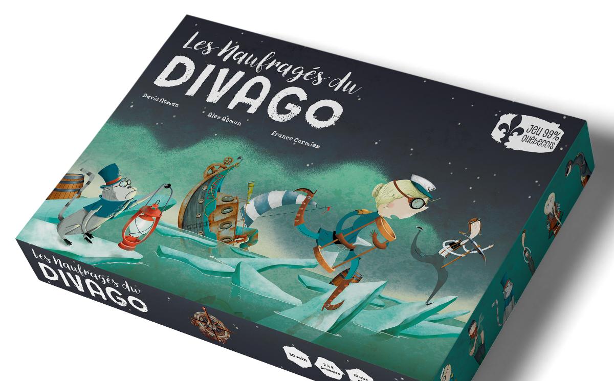 Les naufragés du Divago: le jeu québécois veut faire le tour du monde de la francophonie