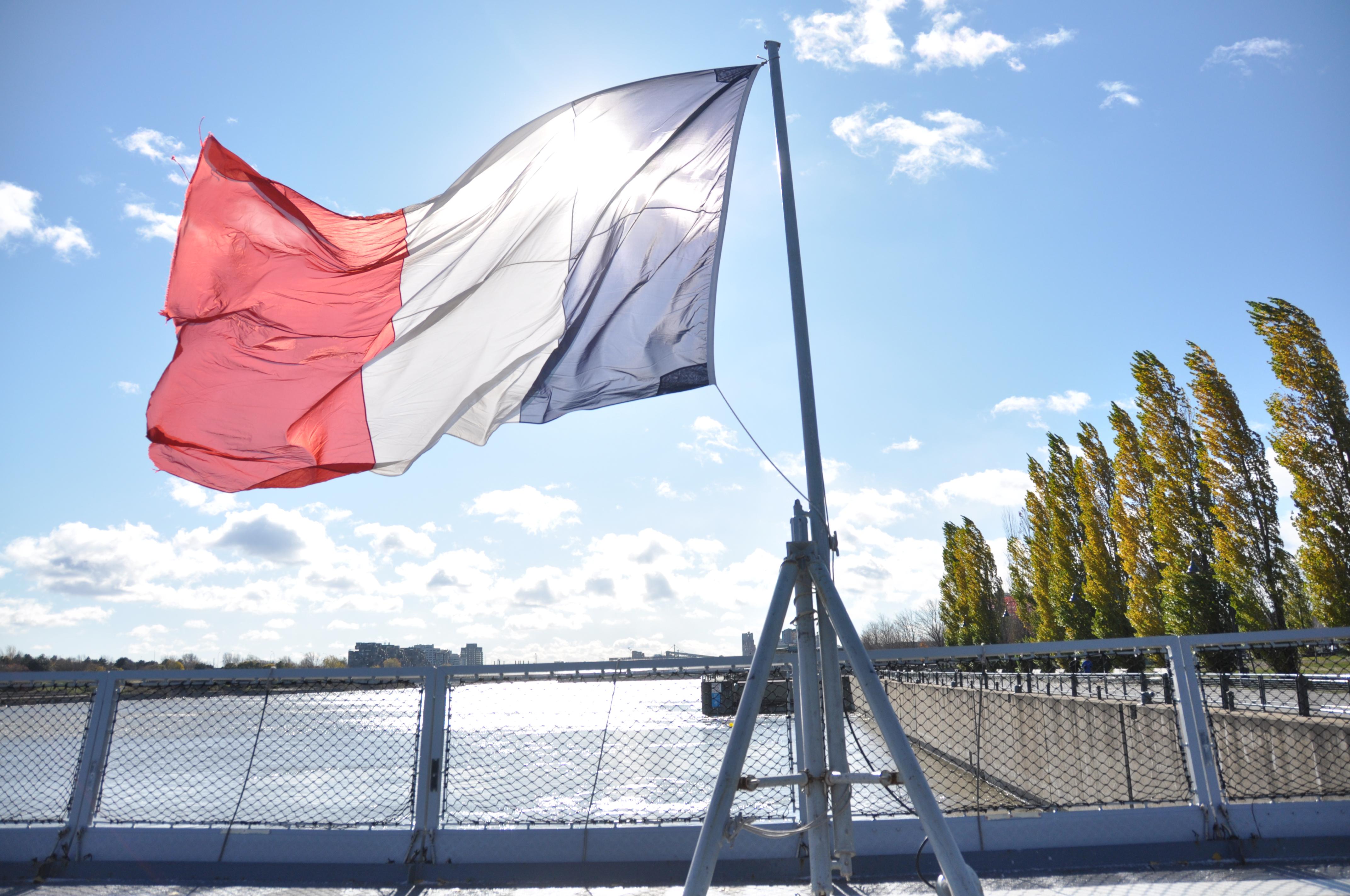 Reportage photos: La frégate Forbin fait escale à Montréal