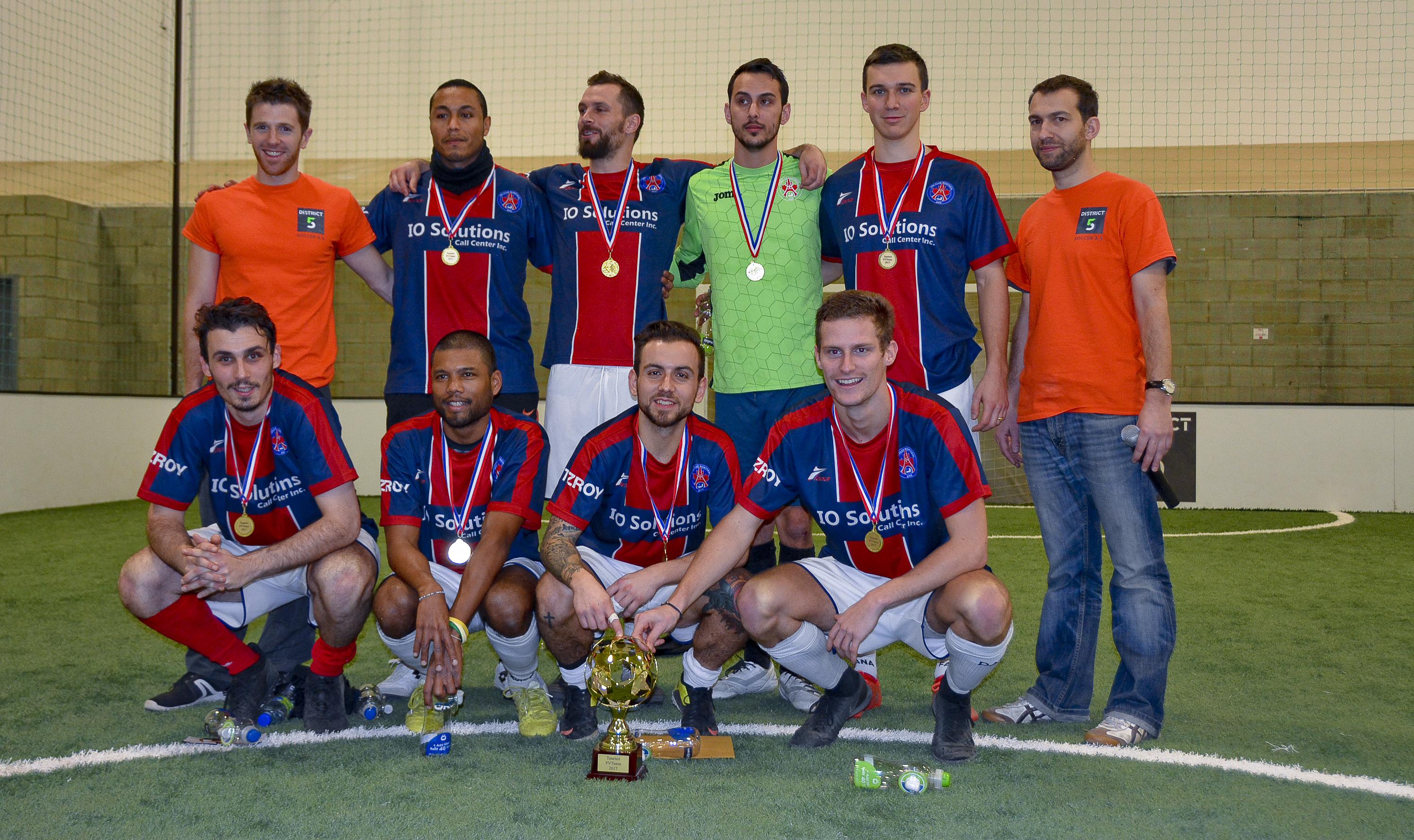 Le PSG Club Montréal remporte la 1ère édition du Tournoi des PVTistes