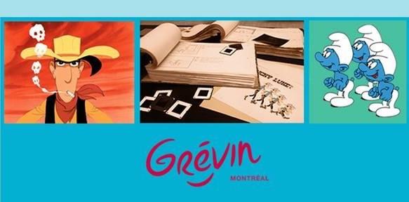 Les grands classiques de l'animation Franco-Belge au musée Grévin