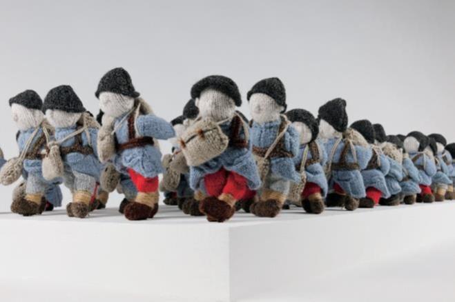 Wool War One, une nouvelle façon de commémorer les combattants de la Grande Guerre