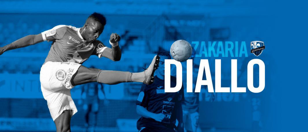 Le Français Zakaria Diallo se joint à l'Impact de Montréal