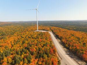 EDF installe un parc éolien au Québec