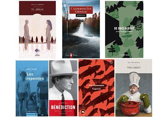Prix littéraire France-Québec: sept romans sélectionnés