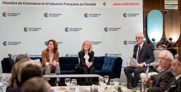 Succès de la rencontre entre les deux ambassadrices de France et du Canada