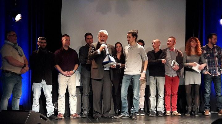 Géraud remporte le concours de slam de la Fédération France-Québec