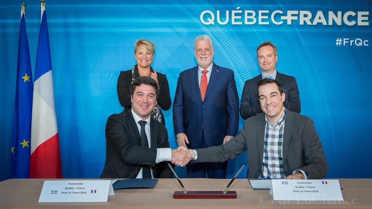 """""""Les secteurs d'avenir"""" au coeur des échanges France-Québec"""