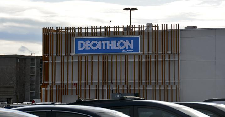 Décathlon Brossard voit grand pour son premier magasin au Canada